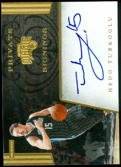 2012-13 Totally Certified Private Signings #8 Hedo Turkoglu