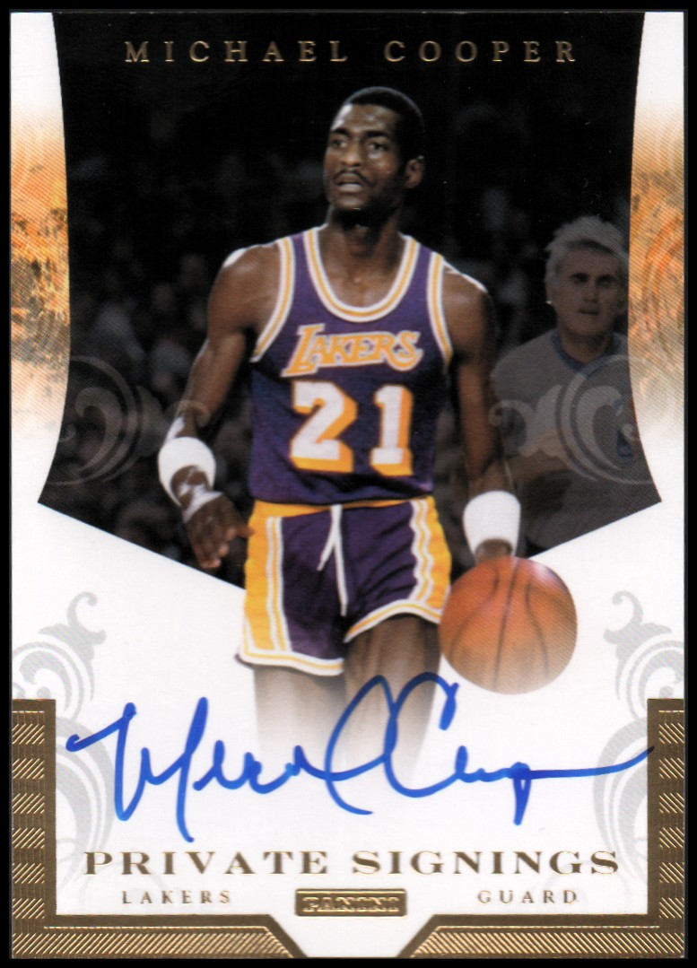 2012-13 Totally Certified Private Signings #18 Michael Cooper