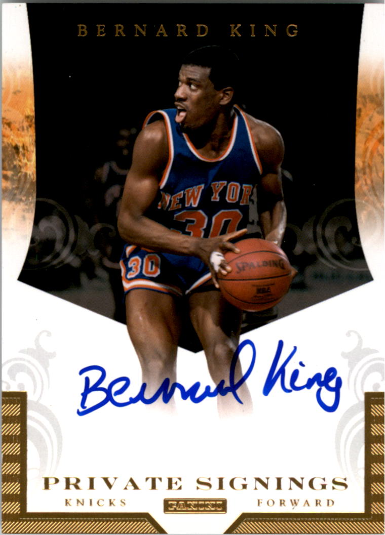 2012-13 Totally Certified Private Signings #20 Bernard King