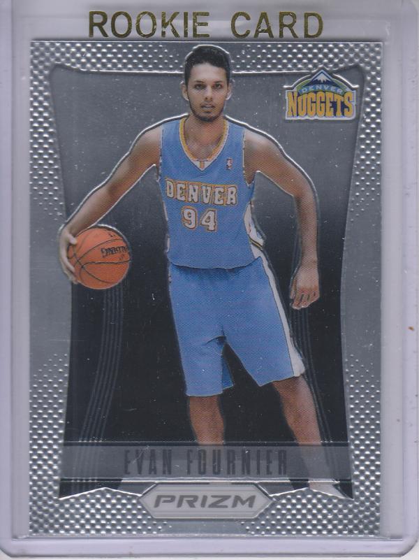 2012-13 Panini Prizm #257 Evan Fournier RC
