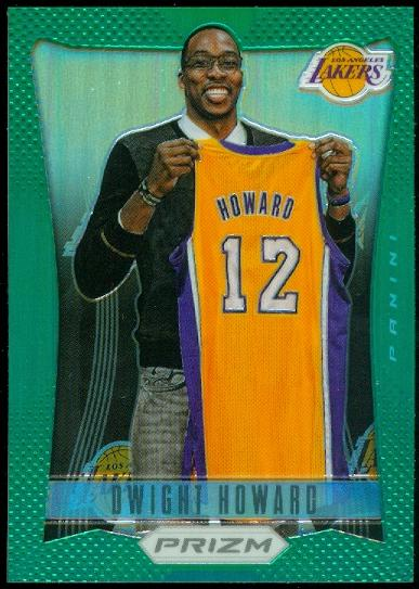 2012-13 Panini Prizm Prizms Green #4 Dwight Howard