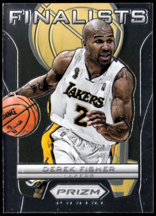 2012-13 Panini Prizm Finalists #15 Derek Fisher