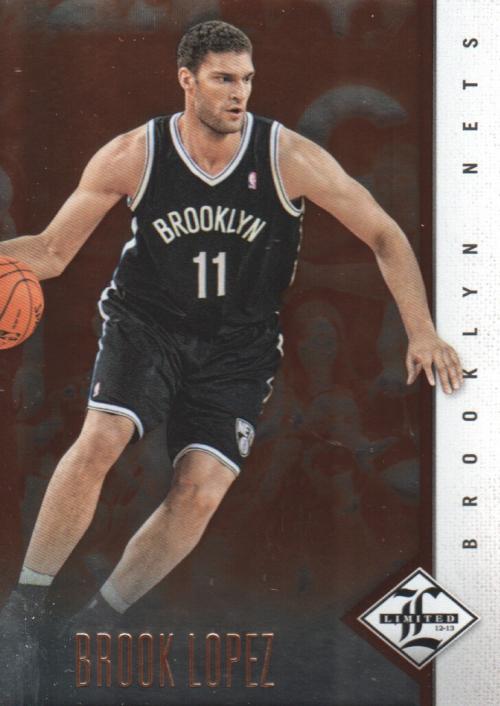 2012-13 Limited #7 Brook Lopez