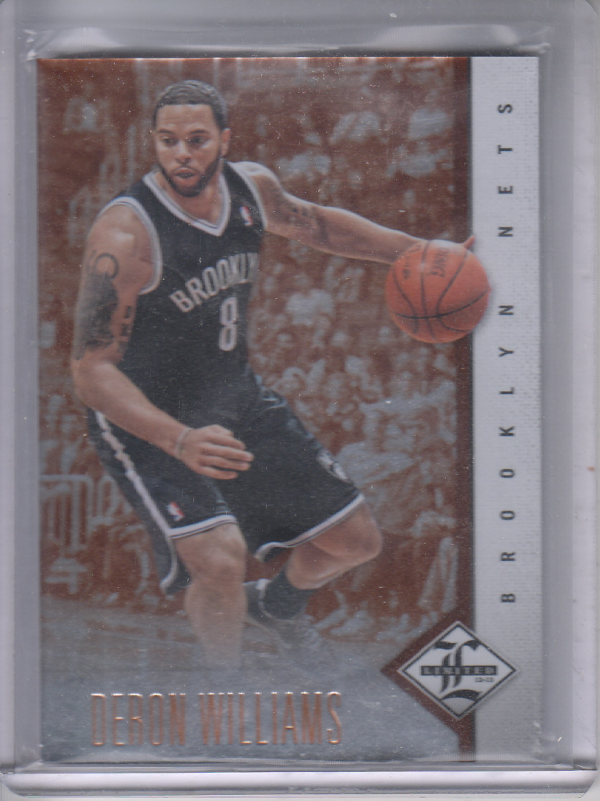 2012-13 Limited #8 Deron Williams