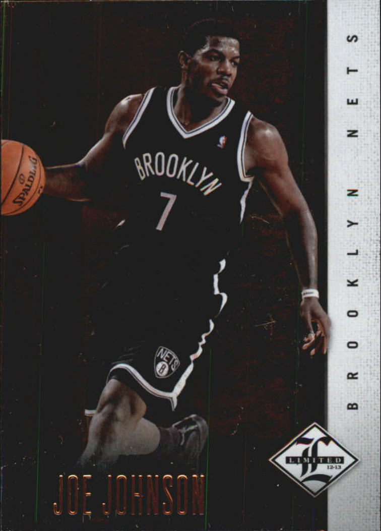 2012-13 Limited #10 Joe Johnson