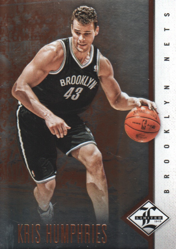 2012-13 Limited #11 Kris Humphries