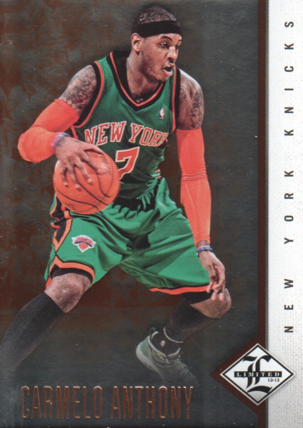 2012-13 Limited #13 Carmelo Anthony