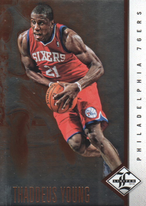 2012-13 Limited #22 Thaddeus Young