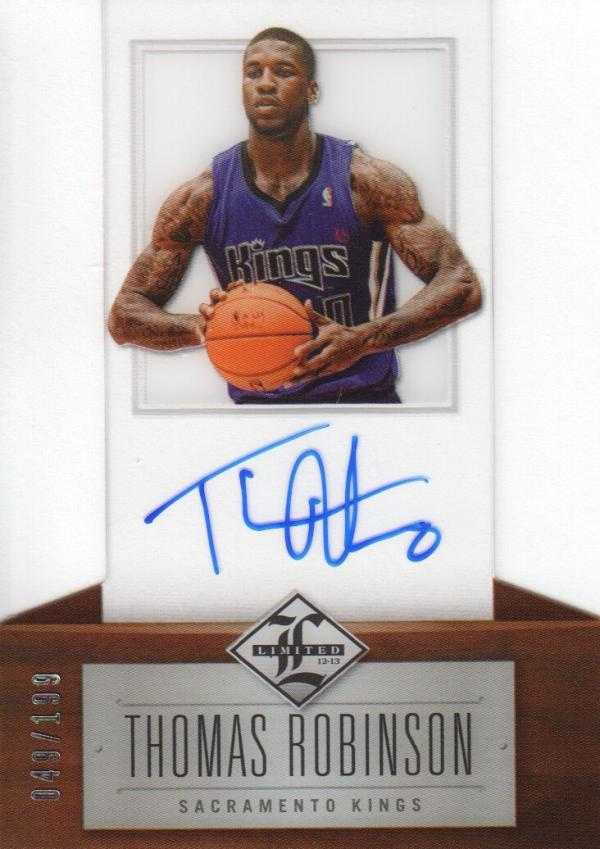 2012-13 Limited #151 Thomas Robinson AU/199 RC