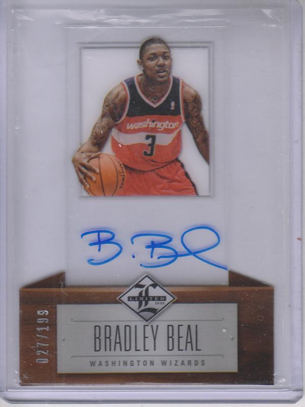 2012-13 Limited #159 Bradley Beal AU/199 RC