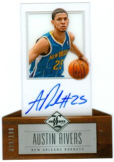 2012-13 Limited #167 Austin Rivers AU/199 RC