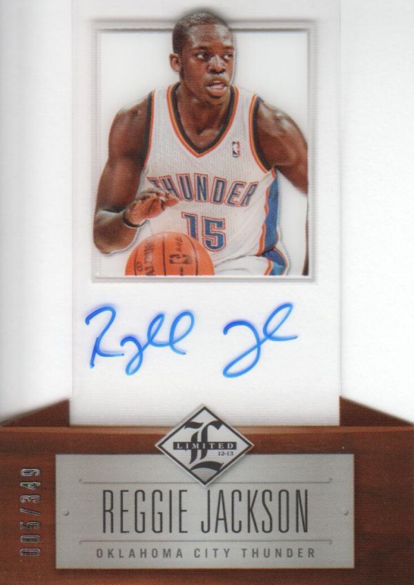 2012-13 Limited #169 Reggie Jackson AU/349 RC