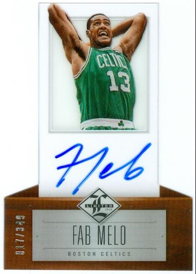 2012-13 Limited #192 Fab Melo AU/349 RC