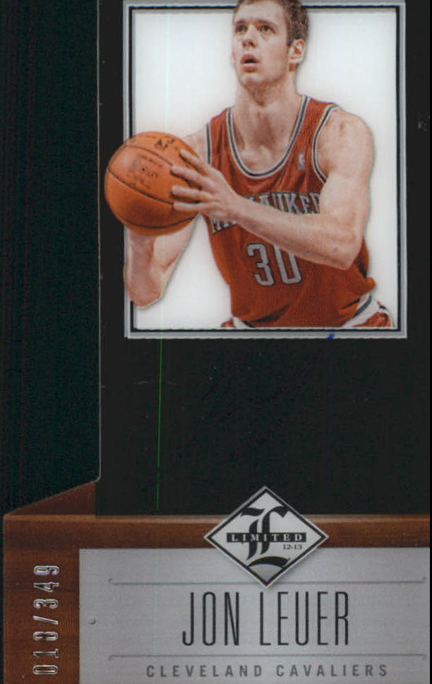 2012-13 Limited #222 Jon Leuer AU/349 RC