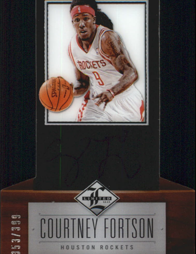 2012-13 Limited #235 Courtney Fortson AU/399 RC