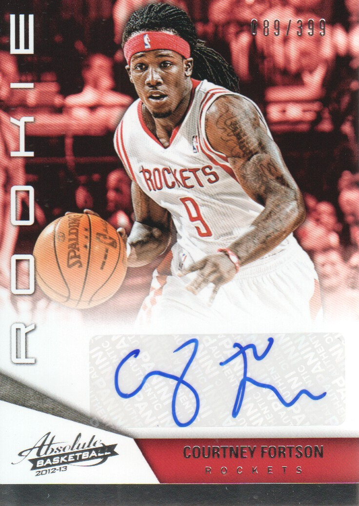 2012-13 Absolute #206 Courtney Fortson AU/399 RC