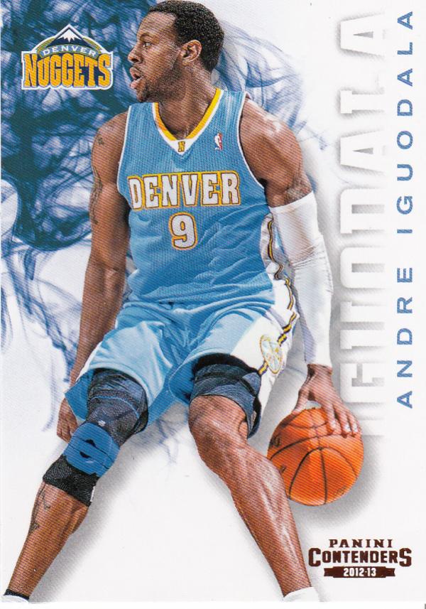 2012-13 Panini Contenders #7 Andre Iguodala