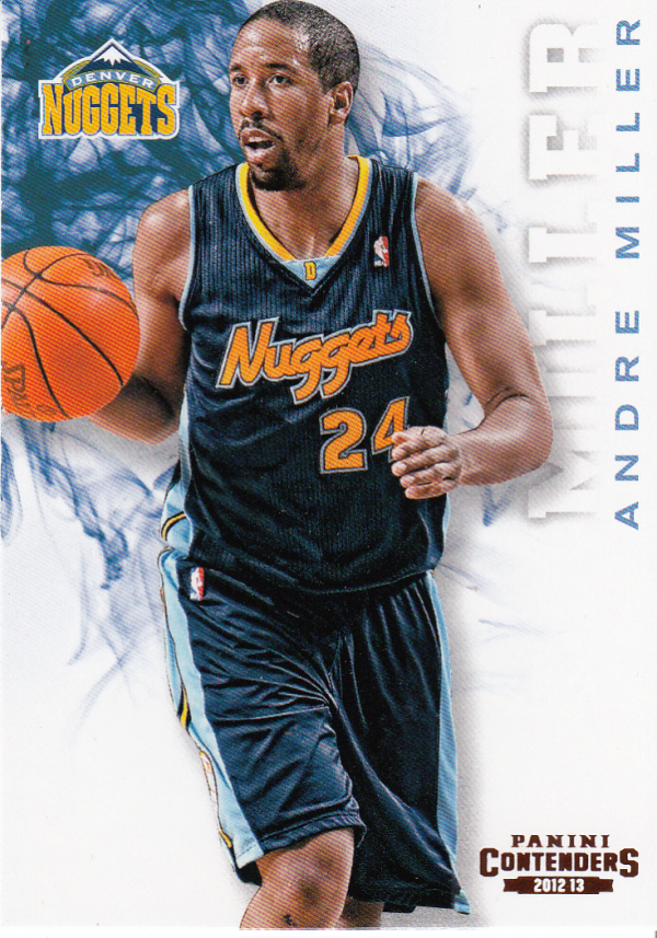 2012-13 Panini Contenders #8 Andre Miller