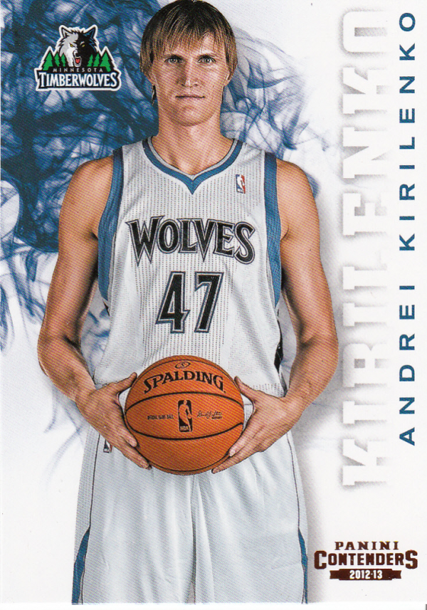 2012-13 Panini Contenders #10 Andrei Kirilenko