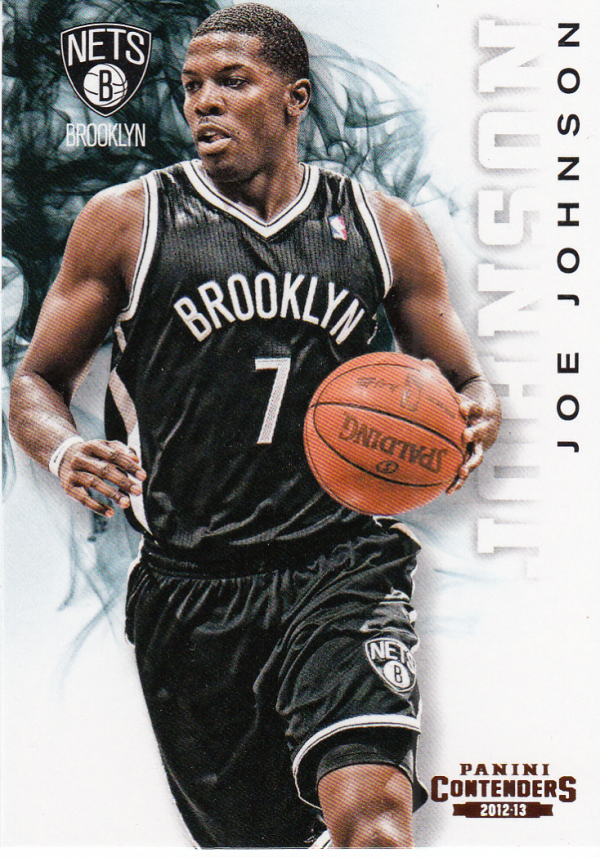 2012-13 Panini Contenders #12 Joe Johnson