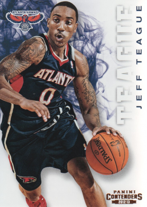 2012-13 Panini Contenders #17 Jeff Teague