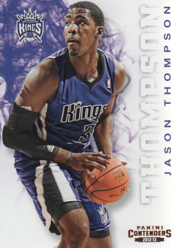 2012-13 Panini Contenders #19 Jason Thompson
