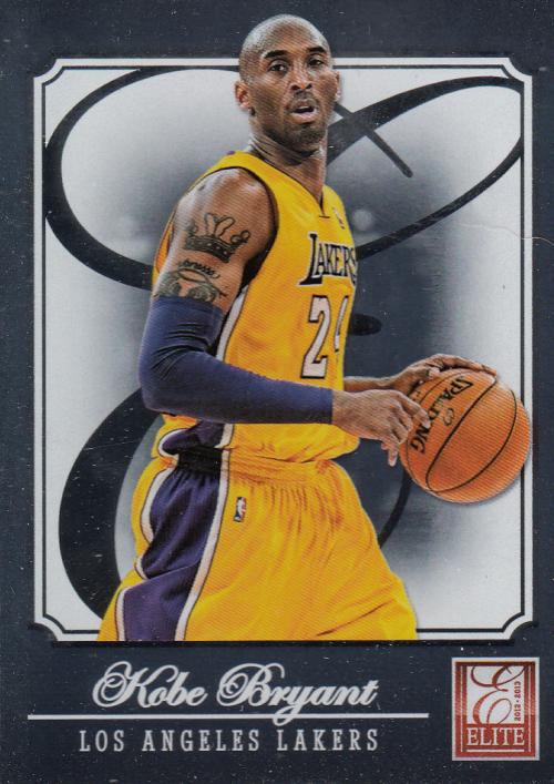 2012-13 Elite #1 Kobe Bryant