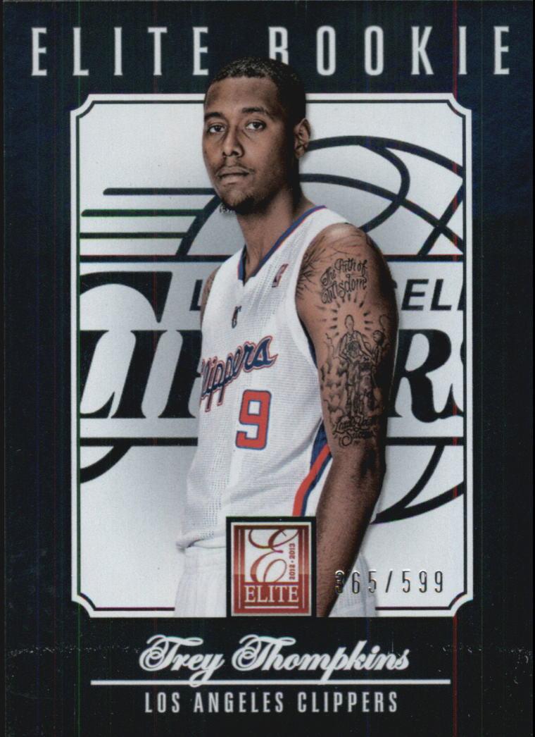 2012-13 Elite #233 Trey Thompkins RC