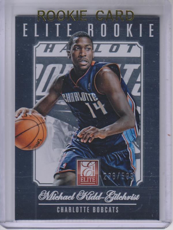 2012-13 Elite #253 Michael Kidd-Gilchrist RC