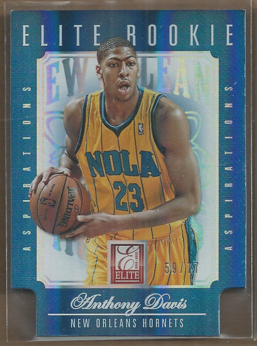 2012-13 Elite Aspirations #252 Anthony Davis/77