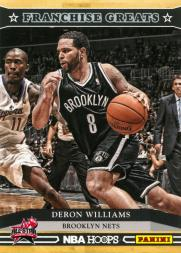 2013 Hoops Franchise Greats All-Star Game #4 Deron Williams