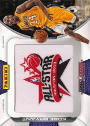 2013 Panini All-Star Game Patches #KB1 Kobe Bryant/Yellow Jersey