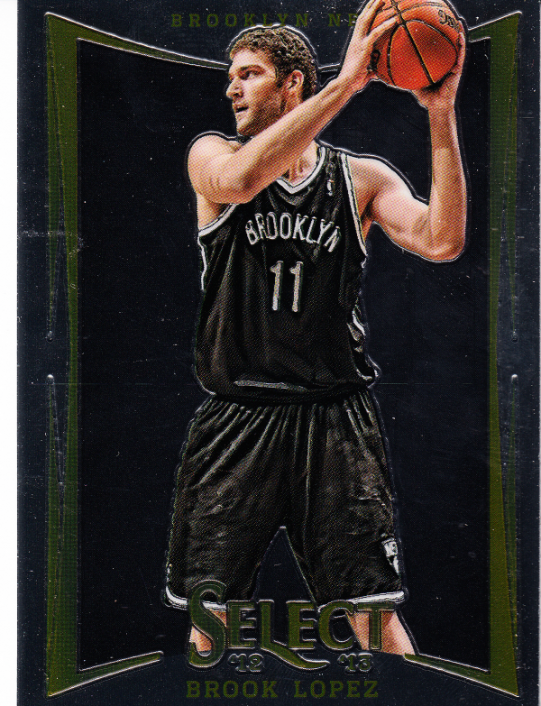2012-13 Select #5 Brook Lopez