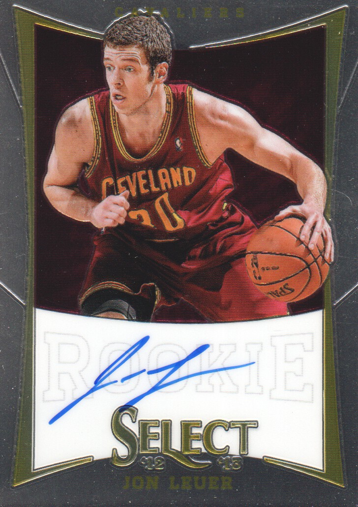 2012-13 Select #221 Jon Leuer AU/349 RC