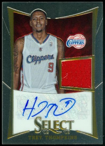 2012-13 Select #264 Trey Thompkins JSY AU/399