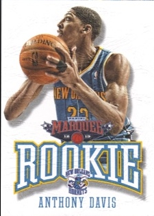 2012-13 Panini Marquee #392 Anthony Davis RC
