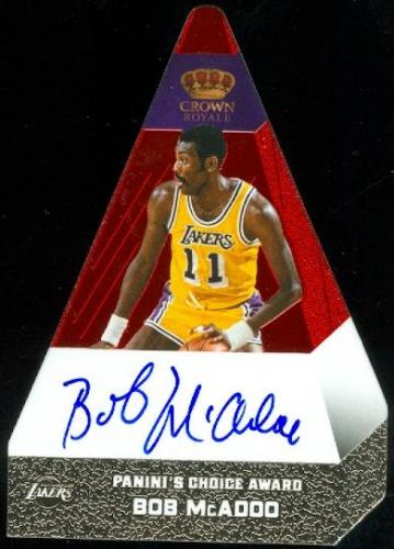 2012-13 Panini Preferred #14 Bob McAdoo PC AU/74