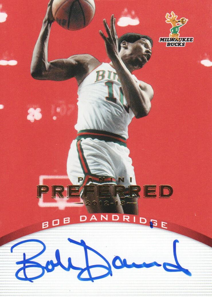 2012-13 Panini Preferred #112 Bob Dandridge PS AU/74