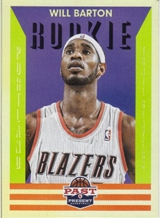 2012-13 Panini Past and Present #152 Will Barton RC