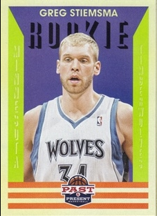 2012-13 Panini Past and Present #153 Greg Stiemsma RC