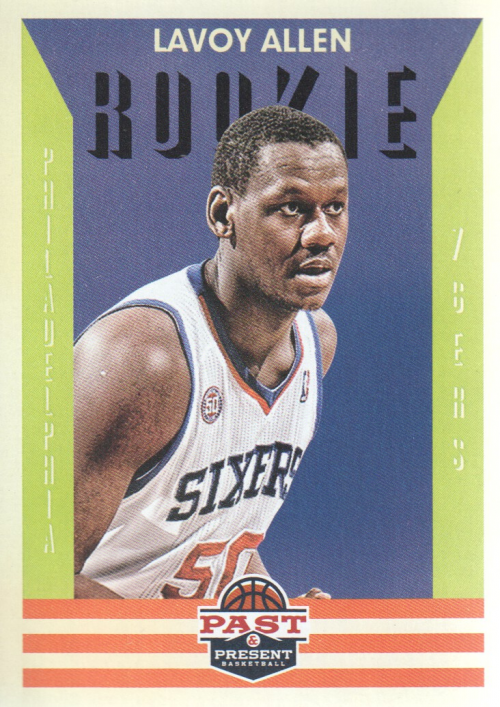 2012-13 Panini Past and Present #154 Lavoy Allen RC