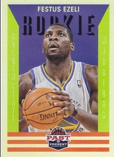2012-13 Panini Past and Present #156 Festus Ezeli RC