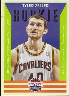 2012-13 Panini Past and Present #158 Tyler Zeller RC