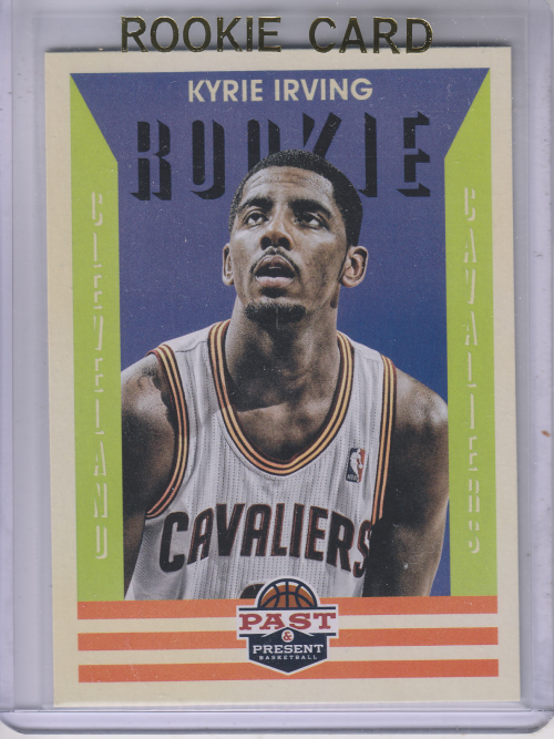 2012-13 Panini Past and Present #160 Kyrie Irving RC