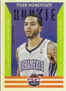 2012-13 Panini Past and Present #161 Tyler Honeycutt RC