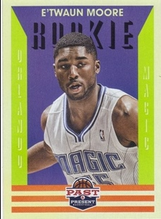2012-13 Panini Past and Present #165 E'Twaun Moore RC