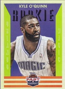 2012-13 Panini Past and Present #166 Kyle O'Quinn RC