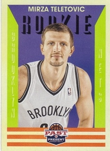2012-13 Panini Past and Present #169 Mirza Teletovic RC