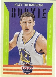 2012-13 Panini Past and Present #172 Klay Thompson RC