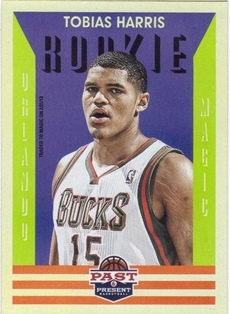 2012-13 Panini Past and Present #173 Tobias Harris RC